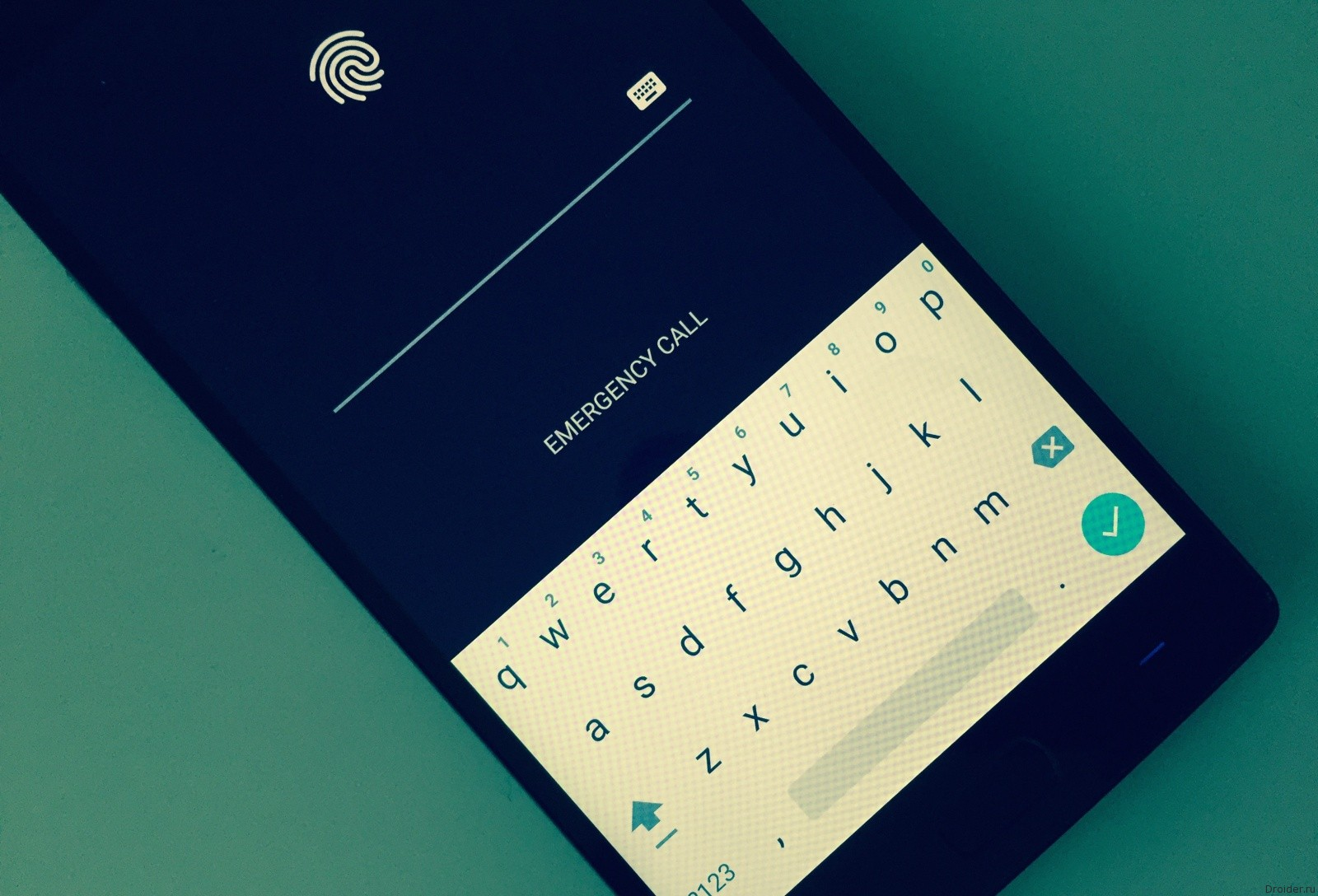 Android password