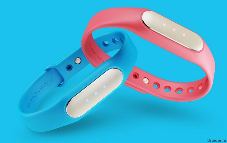 Xiaomi представила браслет Mi Band 1S