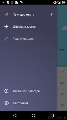 Погода Android