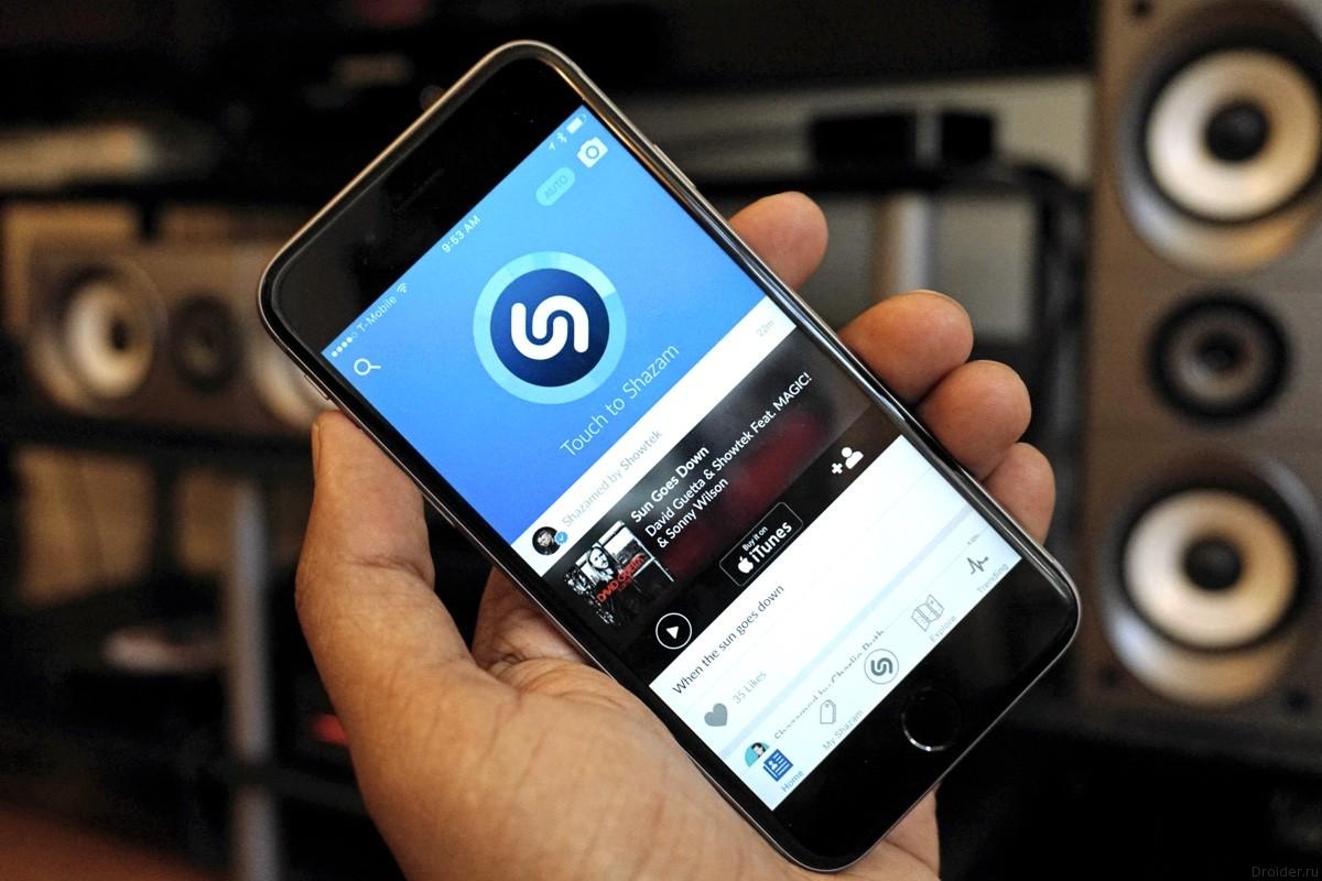 Свежее обновление Shazam улучшило алгоритмы поиска