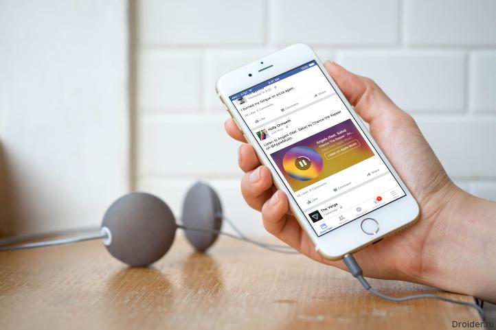 Facebook совместно с Apple и Spotify запустили Music Stories