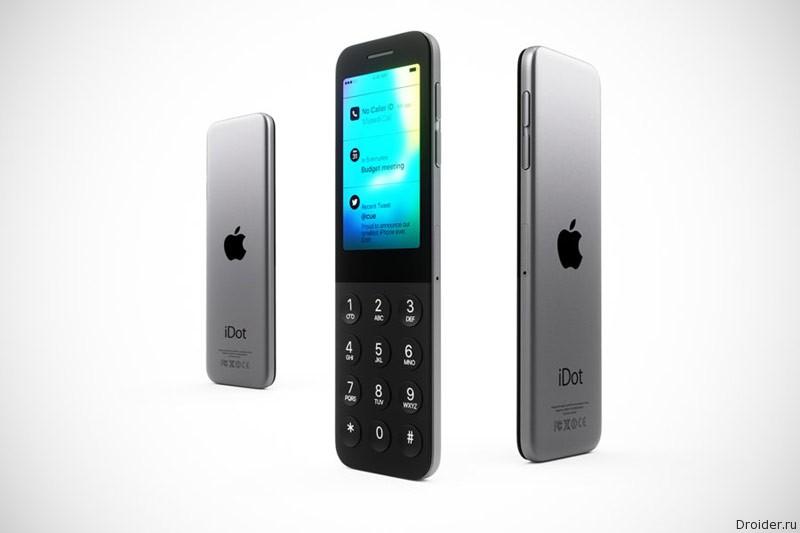 Дизайнеры показали концепт кнопочного iPhone