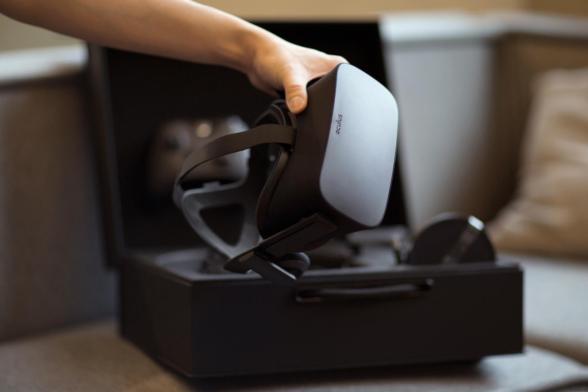 Открыт предзаказ на Oculus Rift за 599 долларов