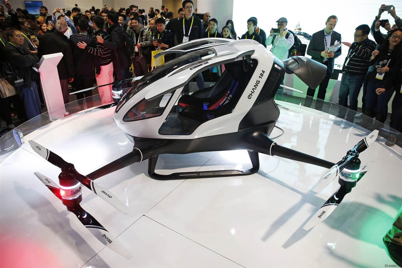 [CES 2016] Ehang 184 — беспилотный дрон-вертолёт