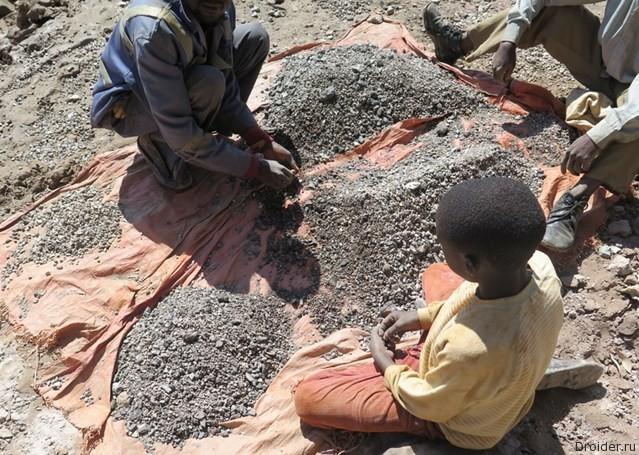 Apple, Samsung и Sony обвинили в использовании детского труда