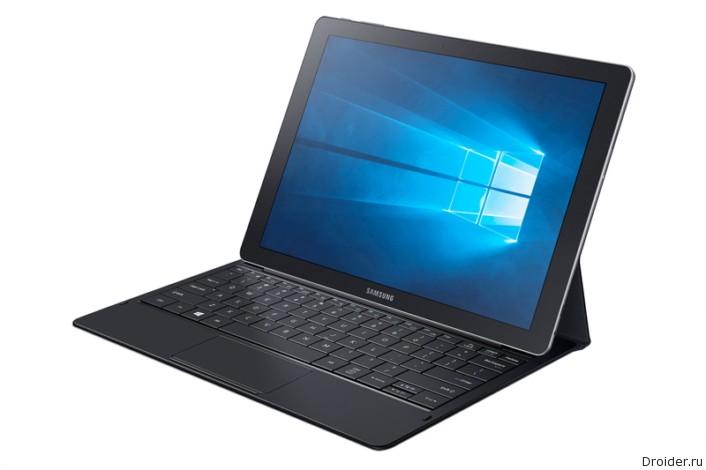 [CES 2016] Гибридный планшет Galaxy TabPro S на Windows 10