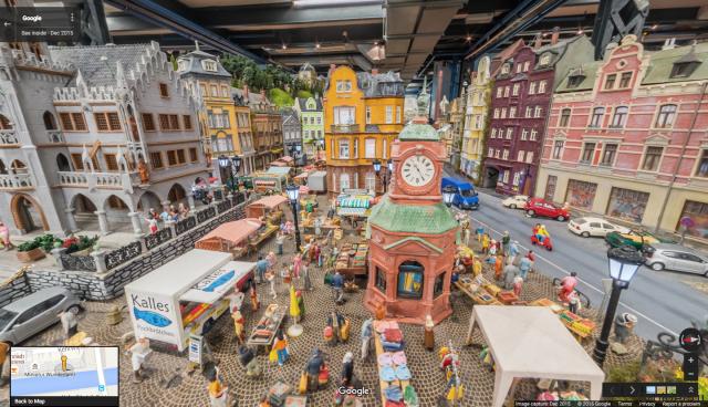 Google Deutschland создала виртуальную экскурсию по игрушечному городу