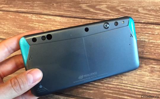 [CES 2016] Intel представила смартфон с 3D-камерой