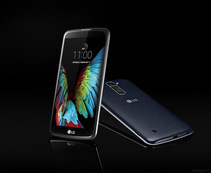 [CES 2016] LG анонсировала камерофоны K10 и K7