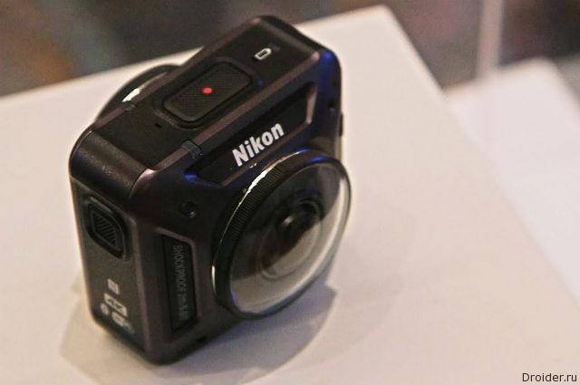 [CES 2016] KeyMission 360 — дебютная экшн-камера от Nikon