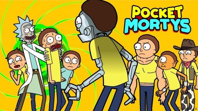 Pocket Mortys — игра по мотивам «Рика и Морти» доступна в Google Play