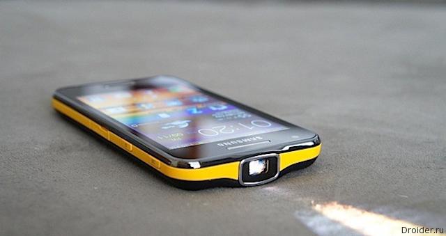 Samsung патентует «раскладушку» со встроенным проектором