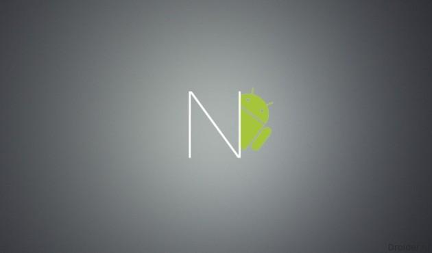 Android N без меню приложений и с новым меню настроек