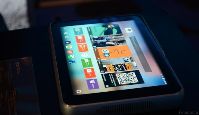 Spro Plus от ZTE — ещё один планшет с проектором