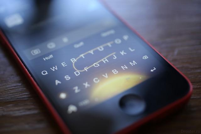 Google выпустит клавиатуру под iOS