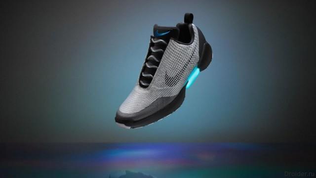 HyperAdapt 1.0 — самозашнуровывающиеся кроссовки от Nike