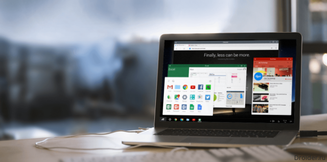 В Android N нашли упоминания «настольной» многооконности