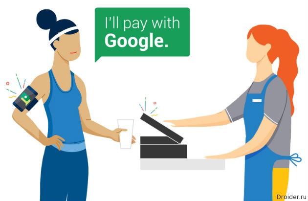 Hands Free от Google — оплата покупок с помощью голоса