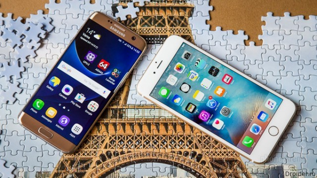 Galaxy S7 edge vs iPhone 6s Plus