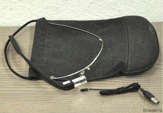 Загадочные смарт-очки Google выставили на eBay