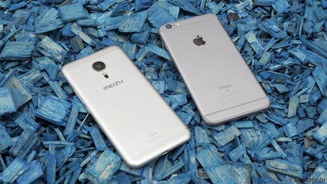Meizu успела скопировать дизайн iPhone 7 для Pro 6