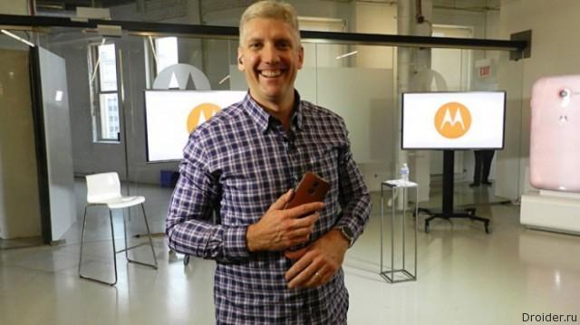 Компанию Motorola покидает CEO Рик Остерлох