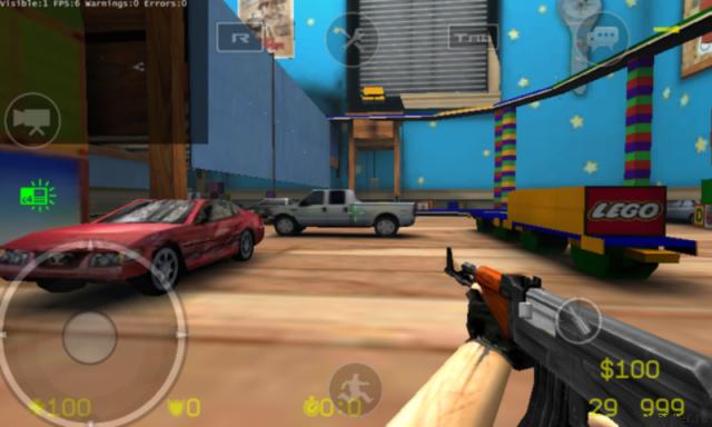 Великую Counter-Strike 1.6 портировали на Android