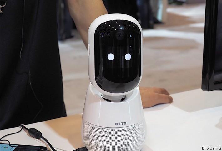Samsung показала персонального робота-помощника Otto