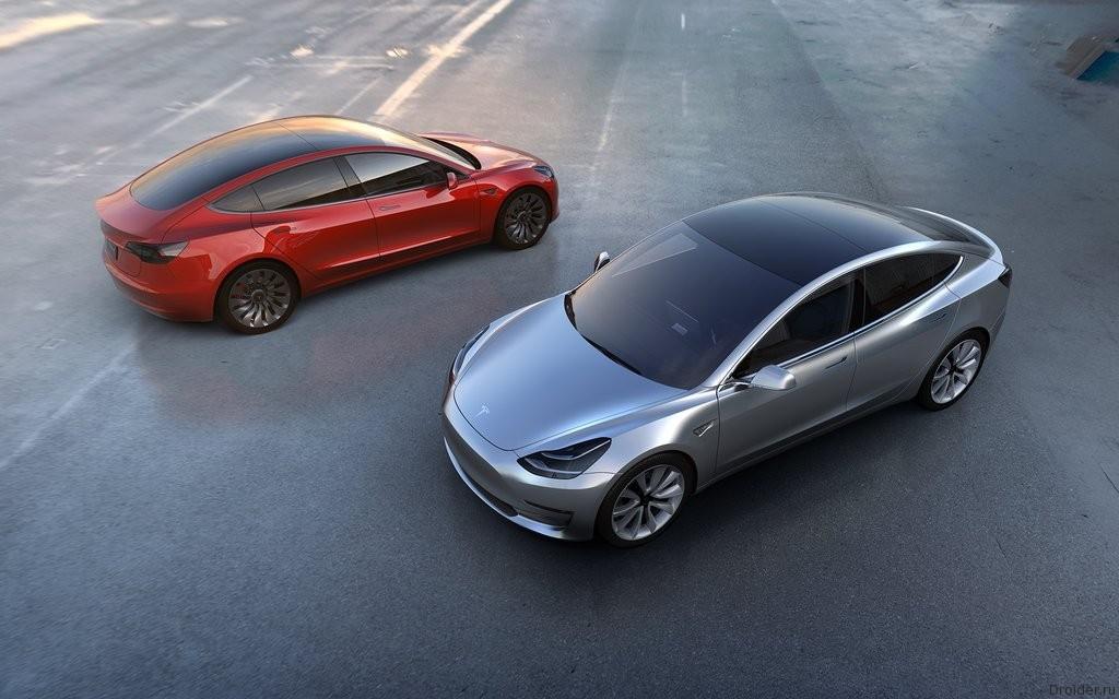 Tesla представила «бюджетный автомобиль» Model 3