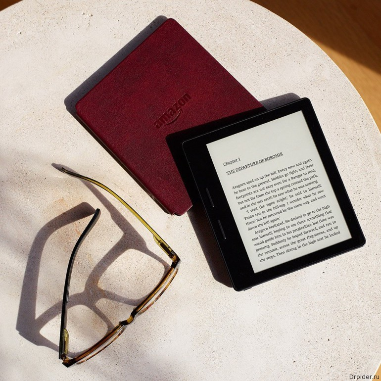 "Amazon выпустила новое поколение ""читалки"" Kindle  Android"