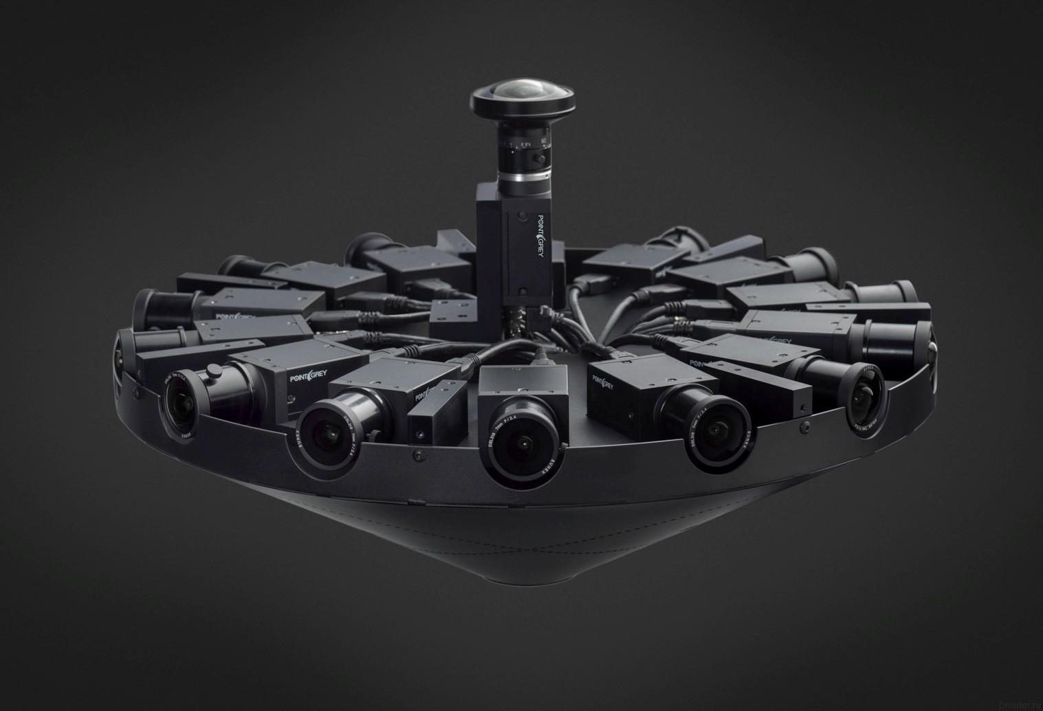 Facebook представила камеру для съёмки 360-градусного видео
