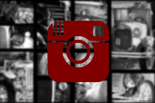 Социальная сеть Instagram меняет дизайн начерно-белый стиль