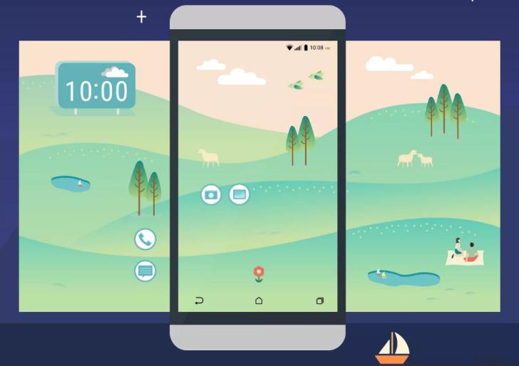 Скриншоты оболочки Sense 8 для HTC 10