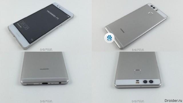Свежие снимки и почти полные характеристики P9 от Huawei