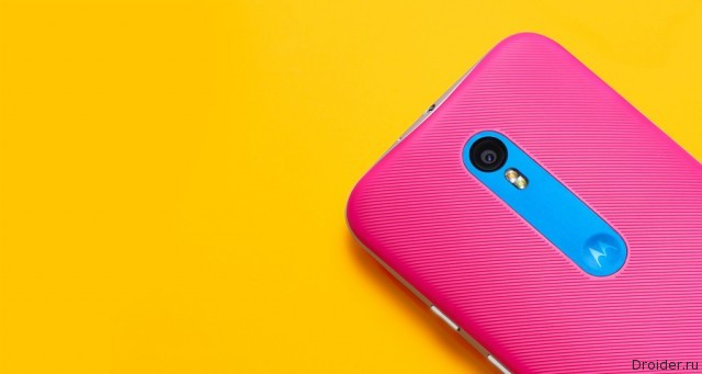 Первый снимок флагмана Motorola в 2016 году