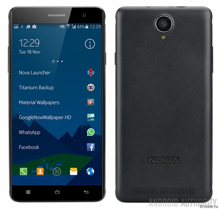 A1 — дебютный Android-смартфон Nokia со средними характеристиками |Android