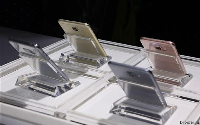 Galaxy C5 и C7 — «середнячки» в металле от Samsung