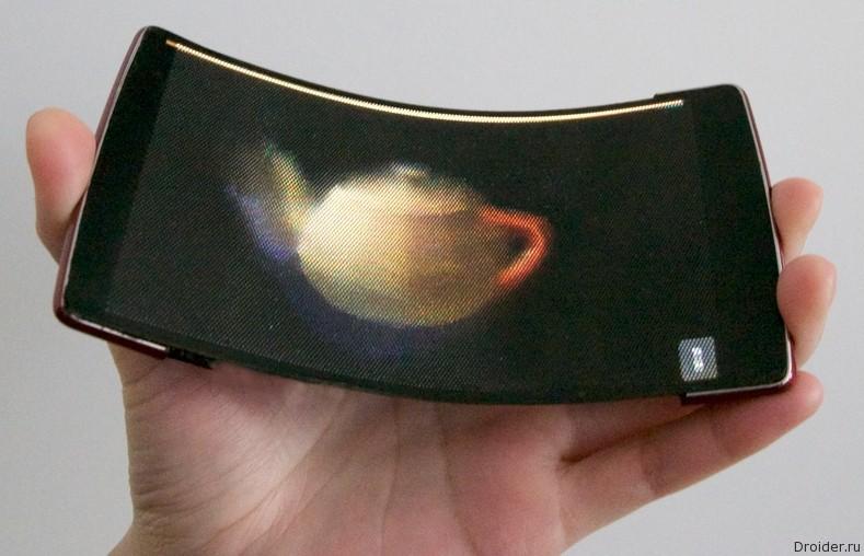 HoloFlex – первый в мире гибкий голографический смартфон
