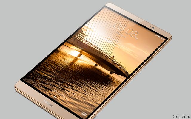 Huawei анонсировала 7-дюймовый MediaPad M2