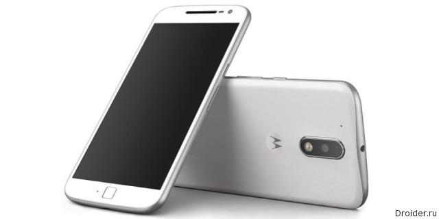 Смартфон Moto G4 Plus показался на качественном рендере