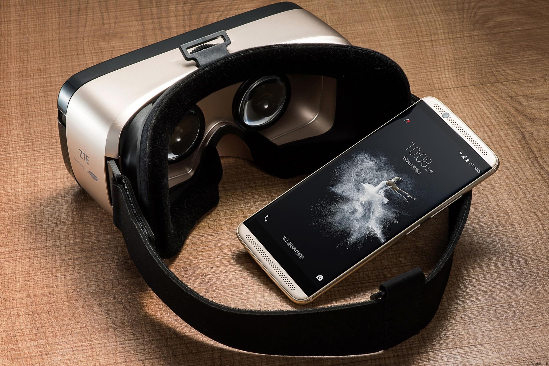 AXON 7 и ZTE VR