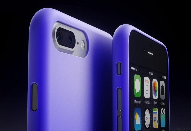 Концепт iPhone 7 и iPhone 7 Pro от дизайнера Мартина Хайека