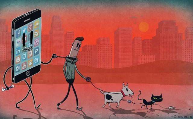 Немало людей предпочитают смартфоны вместо родителей или друзей