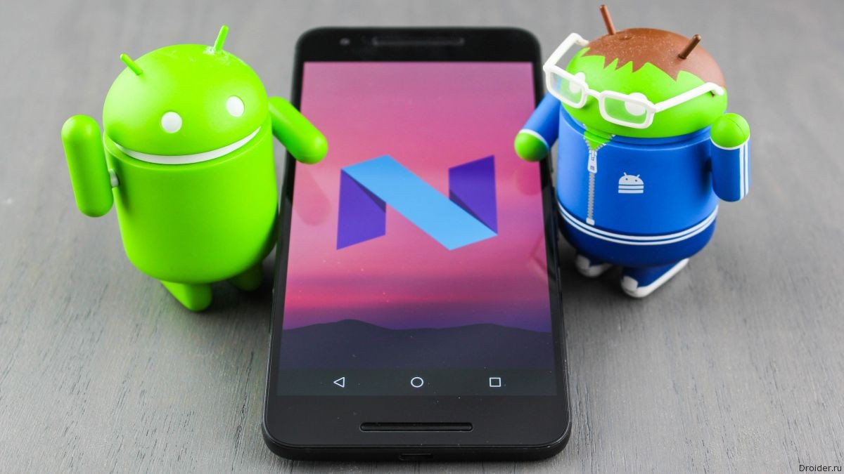 Свежие подробности про будущее Android N