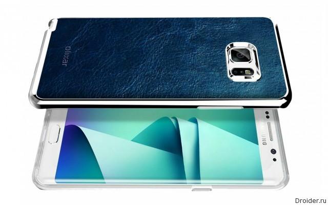 Galaxy Note 7 показался на рендерах и «живом» снимке