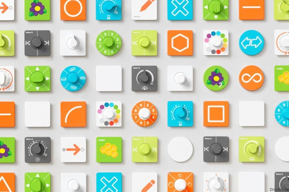 Blocks от Google — конструктор для осязаемого программирования