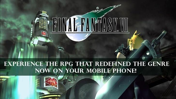 Final Fantasy VII стала доступна на Android