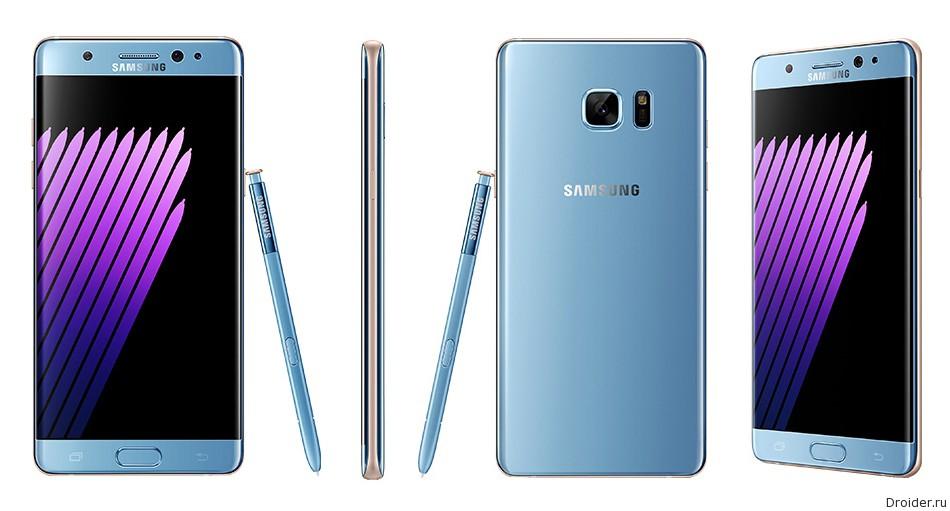 Galaxy Note 7 показался на рендарах, «живых» снимках и в видео