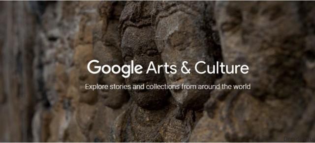 Популярная компания Google разработала сервис для виртуального посещения культурных учреждений