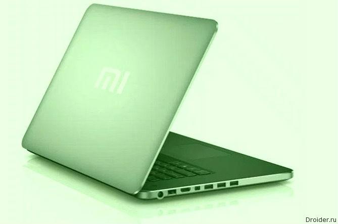Первый ноутбук от Xiaomi попал на «шпионский» снимок